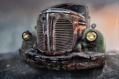 HDR photography: REO Speed-Wagon, Peter J