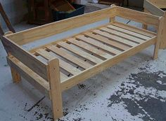 Add the side guardrail to the bunk bed