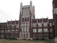 One of the coolest buildings in Louisville, my alma mater, duPont Manual High School