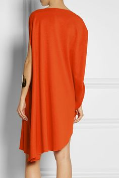 fb0821721b2e Calvin Klein Collection - Tamara draped piqué mini dress