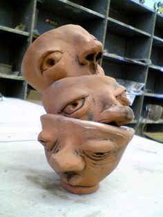 face pinch pot tutorial - Google Search