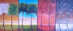Paixão na Pintura: Quatro Estacoes - Four Seasons