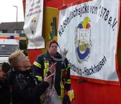 Kamelle! - Sonndachsjecke von Hackenbroich, Foto: S. Hopp