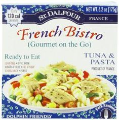 Dalfour Gourmet On The Go, Ready to Eat Tuna & Pasta, Tins (Pack of St. dalfour gourmet on the go, ready to eat tuna & pasta, tins (pack of is tuna with vegetables and cooked pasta in an oil based dressing. Pasta Recipes, Gourmet Recipes, Tuna Pasta, Thing 1, French Bistro, It Goes On, Just In Case, Stuffed Peppers, Meals