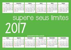 CALENDÁRIO 2017 SUPERE SEUS LIMITES 1