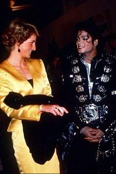 Michael & Princess Diana ❤️