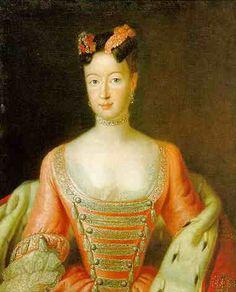 ca. 1740 Wilhelmine von Bayreuth by Antoine Pesne (Schlösserverwaltung Bayreuth)
