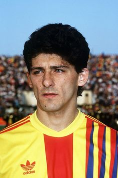 Miodrag Belodedici, Romania, a European Cup winner twice with Steaua Bucharest and Red Star Belgrade World Football, Football Kits, Red Star Belgrade, European Cup, Great Team, Soccer Players, Fifa, Retro, Sports