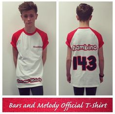 "Here it is , the first EVER official Bars and Melody Tshirt here is the size infoSizeChest (to fit) S - 35/37"", M - 38/40"", L - 41/43"", XL - 44/46"", 2XL - 47/49"""