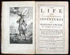 Robinson Crusoe 1st edition