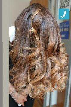 Honey Blonde. Light Brunette style color.