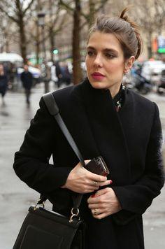 Charlotte Casiraghi À Paris, Le 6 Mars 2017 21