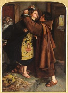 Sir John Everett Millias - The Escape of a Heretic 1857 (Frist Apr 2010)