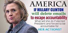 .KEEP HER OUT OF our WHITE HOUSE!!!