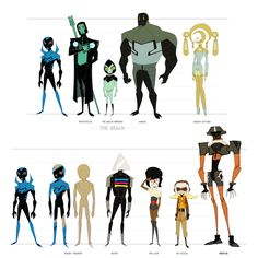 Blue Beetle Animated Villain Sheet Two by dou-hong.deviantart.com on @deviantART