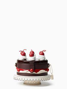 ma chérie cherry cake - Kate Spade New York Unique Handbags, Unique Purses, Unique Bags, Kate Spade Handbags, Kate Spade Purse, Kate Spade Cake, Novelty Bags, Novelty Handbags, Creative Bag