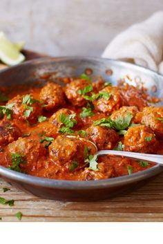 Never mind a takeaway, these hot and spicy curry recipes are perfect for dinner. Find other curry recipes and cooking suggestions at Tesco Real Food. Lamb Recipes, Meat Recipes, Indian Food Recipes, Ethnic Recipes, Freezable Recipes, Savoury Recipes, Meatball Recipes, Savoury Dishes, Recipies
