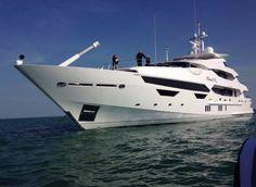 Sunseeker's 148 foot Princess AVK completes sea trials