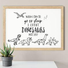Boys Dinosaur Bedroom, Dinosaur Room Decor, Dinosaur Nursery, Animal Nursery, Dinosaur Kids Room, Dinosaur Prints, Dinosaur Decorations, Nursery Room Decor, Nursery Prints