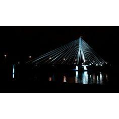 #bridge #architecture #most#wisła #warszawa #nocą#warsaw#night#city #lights #archilovers #dark#beautiful #photoshoot #instagood#good#lubiepolske