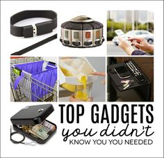 Top Gadgets You Didn't Know You Needed. Great gift ideas.