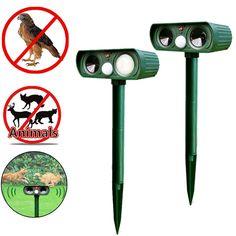 Garden Supplies Ultrasonic Solar Power Pest Animal Repeller Repellent Garden Bat Cats Dogs Foxes 2017ing #Affiliate