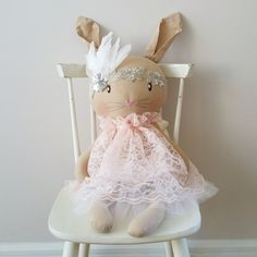 Dream come true! Mizy vintage 3 foot bunny. A bunny every little girl should have. Too bad is so expensive.