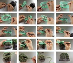 loom knitting | LOOM KNITTING STEP BY STEP:                                                                                                                                                                                 Mehr