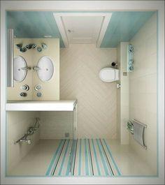 kleine Badezimmer 5