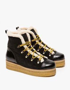 87d273056 Ganni Astor Fur Boots | $476 Fur Ankle Boots, Shoe Boots, Fancy Shoes,