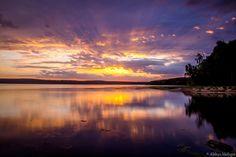 Burning sunset by Aleksei Malygin on 500px