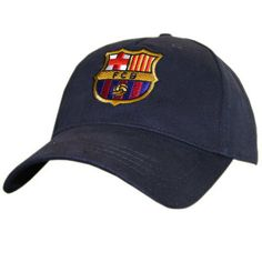 e7515a6a61c Barcelona FC Cap Navy. Embroidered Caps ...
