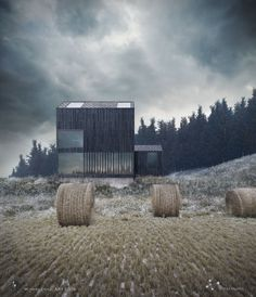 Architect, visualization: Andrei Mikhalenko Winter is coming...