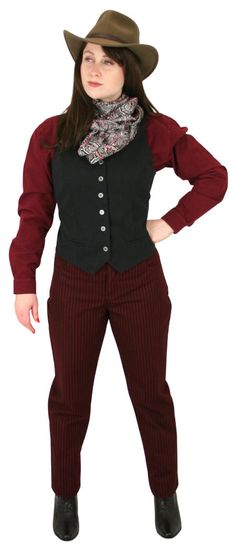 Historical Emporium, Period Outfit, Star Rating, Five Star, Burgundy, Lady, Classic, Pants, Clothes