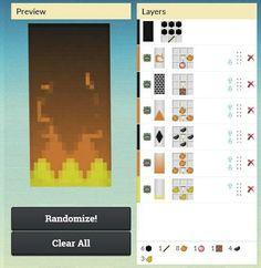 Fire Banner - Minecraft World Minecraft Mods, Minecraft Poster, Memes Minecraft, Craft Minecraft, Plans Minecraft, Minecraft Building Guide, Minecraft Medieval, Minecraft Construction, Minecraft Tutorial