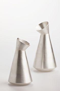 Penguin pots - Alison Jackson Silversmith