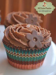 Mi Dulce Pasión: Un nuevo pecado… Cupcakes de Nutella…
