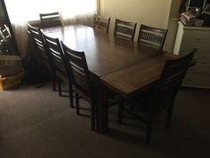 Ash Platform Dining Table