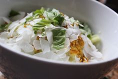Cucumber Coconut Curry // Radiantly Raw Blog