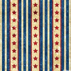 Stonehenge Old Glory - Stars in Stripes - Natural