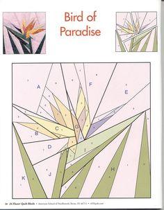 24 flower quilt blocks 28 | da Edy Patchwork