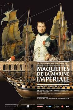Maquettes de la Marine Imperiale (new exhibition of historic model ships at Chateau de Versailles, France)