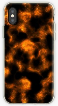'Mandala in Flames' iPhone Case by Phone Cover, Iphone Case Covers, Pattern Art, Abstract Pattern, Religious Symbols, Computer Case, Mobile Phone Cases, School Colors, Pretty Black