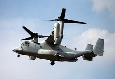 The Bell Boeing V-22 Osprey is an American multi-mission, tilt rotor military aircraft with both a vertical takeoff and landing (VTOL), and short takeoff and landing (STOL) capability developed from the Bell XV-15 and manufactured by Bell Helicopter and Boeing Rotorcraft Systems. It is designed to combine the functionality of a conventional helicopter with the long-range, high-speed cruise performance of a turboprop aircraft.