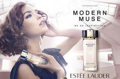 Arizona Muse for Estee Lauder Modern Muse Fragrance