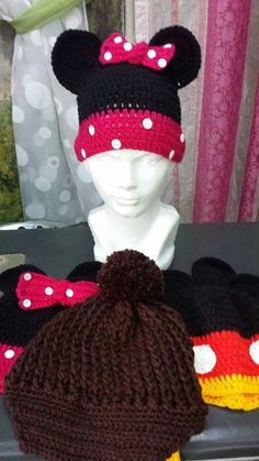 Gorro mimi Crochet Hats, Fashion, Beanies, Art, Knitting Hats, Moda, Fashion Styles, Fashion Illustrations
