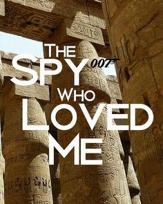 James Bond, Spy, The Secret, My Love