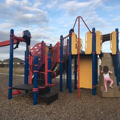 Finally beautiful weather for being on the playground with all the neighborhood kiddos. #family #neighborhoodkids #community