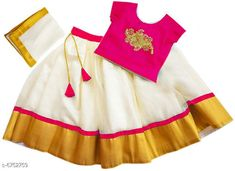 Lehenga Cholis Elegant Banglori Silk Kids Lehenga Choli Top Fabric: Taffeta   Lehenga Fabric: Georgette Dupatta Fabric: Georgette Sleeve Length: Short Sleeves Top Pattern: Embroidered Dupatta Pattern: Zari Woven Multipack: 1 Sizes:  4-5 Years (Bust Size: 22 inCholi Length Size: 12 inLehenga Waist Size: 22 in Lehenga Length Size: 25 in Duppatta Length Size: 1.5 m)  5-6 Years (Bust Size: 23 inCholi Length Size: 12.5 inLehenga Waist Size: 23 in Lehenga Length Size: 26 in Duppatta Length Size: 1.5 m)  3-4 Years (Bust Size: 20 inCholi Length Size: 11.5 inLehenga Waist Size: 20 in Lehenga Length Size: 23 in Duppatta Length Size: 1.5 m)  6-12 Months (Bust Size: 18 inCholi Length Size: 10 inLehenga Waist Size: 18 in Lehenga Length Size: 18 in Duppatta Length Size: 1.5 m)  6-7 Years (Bust Size: 24 inCholi Length Size: 13 inLehenga Waist Size: 24 in Lehenga Length Size: 27 in Duppatta Length Size: 1.5 m)  2-3 Years (Bust Size: 19 inCholi Length Size: 11 inLehenga Waist Size: 19 in Lehenga Length Size: 20 in Duppatta Length Size: 1.5 m)  Country of Origin: India Sizes Available: 6-9 Months, 6-12 Months, 9-12 Months, 12-18 Months, 18-24 Months, 1-2 Years, 2-3 Years, 3-4 Years, 4-5 Years, 5-6 Years, 6-7 Years, 7-8 Years, 8-9 Years, 9-10 Years *Proof of Safe Delivery! Click to know on Safety Standards of Delivery Partners- https://ltl.sh/y_nZrAV3  Catalog Rating: ★4.2 (9641)  Catalog Name: Cutiepie Stylish Kids Girls Lehanga Cholis CatalogID_1076864 C61-SC1137 Code: 414-6752759-