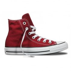 Shop the Converse Chuck Taylor All Star Maroon Hi Top Trainers. off your First Order. Converse Chuck Taylor All Star, Converse All Star, Chuck Taylor Sneakers, High Top Sneakers, High Heels, Converse Men, New Balance Shoes, Chuck Taylors, Trainers